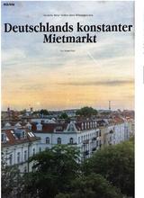 Download PDF: Deutschlands konstanter Mietmarkt / Deutsche Mieter bleiben ihren Wohnungen treu