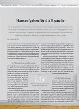 Download PDF: Hausaufgaben für die Branche