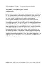 Download PDF: Angst vor dem säumigen Mieter / Allensbach-Umfrage