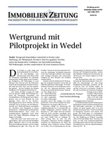 Download PDF: Wertgrund mit Pilotprojekt in Wedel
