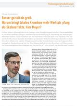 Download PDF: Besser gezielt als groß: Warum bringt lokales Knowhow mehr Wertschöpfung als Skaleneffekte, Herr Meyer?