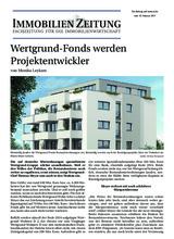 Download PDF: Wertgrund-Fonds werden Projektentwickler
