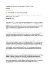 Download PDF: Die Preisrally hält an – aber wie lange noch?
