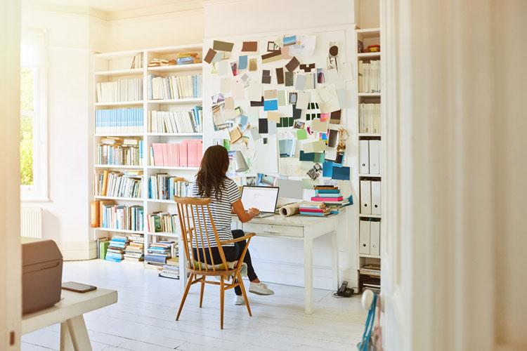 Homeoffice – wie das eigene Arbeitszimmer zur Denkfabrik wird