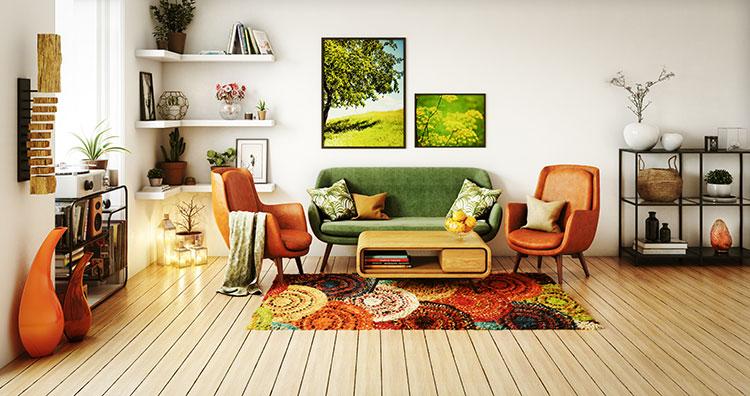 Vom Bodenbelag zum Stilelement: So wird Ihr Teppich zum Hingucker