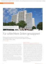 Download PDF: Für schlechtere Zeiten gewappnet – ein Beitrag von Thomas Meyer, WERTGRUND
