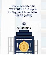 Download PDF: Scope bewertet die WERTGRUND-Gruppe im Segment Immobilien mit AA (AMR)