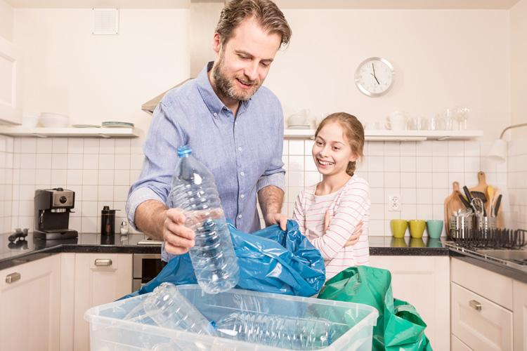Mülltrennung: Mit diesen Tipps gelangt alles in die richtige Tonne.