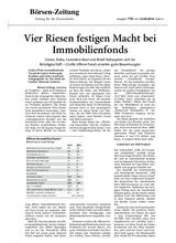 Download PDF: Vier Riesen festigen Macht bei Immobilienfonds