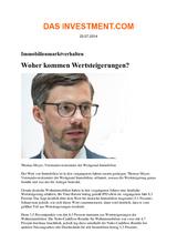 Download PDF: Immobilienmarktverhalten: Woher kommen Wertsteigerungen?
