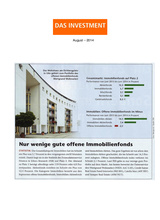 Download PDF: Nur wenige gute offene Immobilienfonds