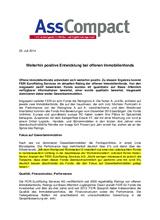 Download PDF: Weiterhin positive Entwicklung bei offenen Immobilienfonds