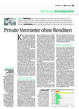 Download PDF: Private Vermieter ohne Renditen