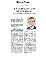 Download PDF: Immobilienfonds sollen sich spezialisieren – Feri-Manager Kubatzki beklagt knappes Angebot