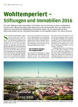 Download PDF: Wohltemperiert – Stiftungen und Immobilien 2016
