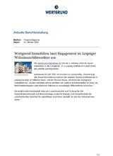 Download PDF: WERTGRUND baut Engagement im Leipziger Wohnimmobiliensektor aus.