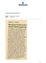 Download PDF: WERTGRUND startet ersten offenen Wohnungsfonds