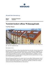 Download PDF: Vertrieb fordert offene Wohnungsfonds