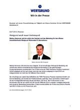 Download PDF: WERTGRUND beruft neuen Vertriebsprofi