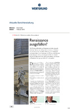 Download PDF: Renaissance ausgefallen?