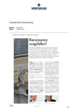 Download PDF: Renaissance ausgefallen?