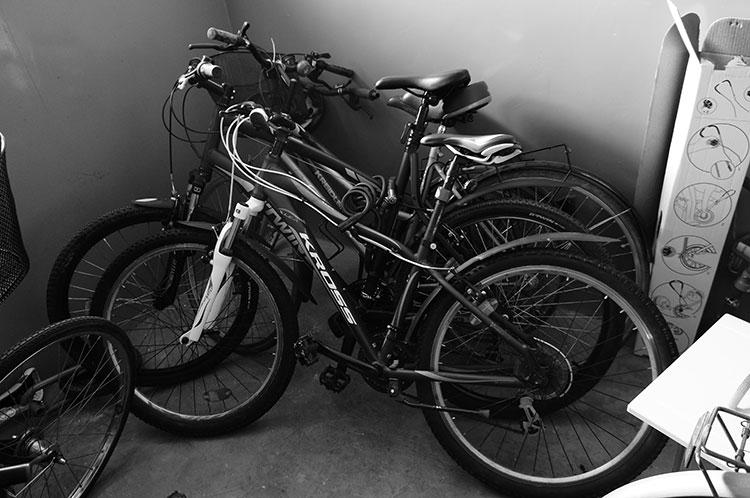Wohin mit dem Fahrrad im Mietshaus?